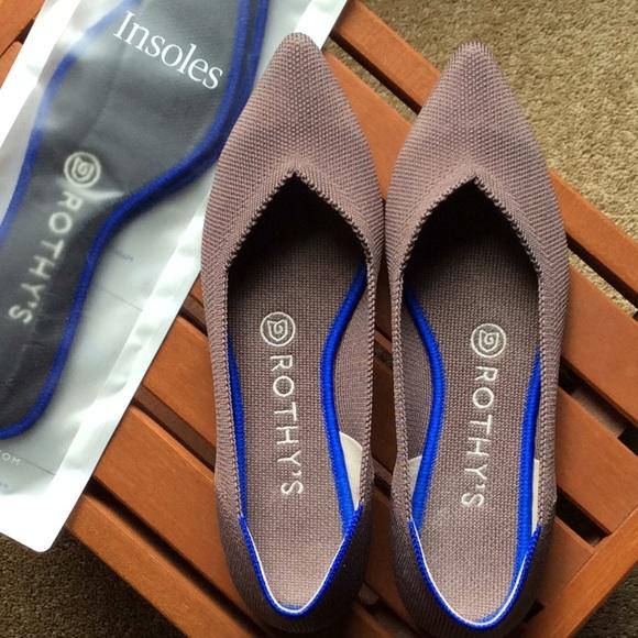 Shoes | Rothys Pointed Toe Flats | Poshmark